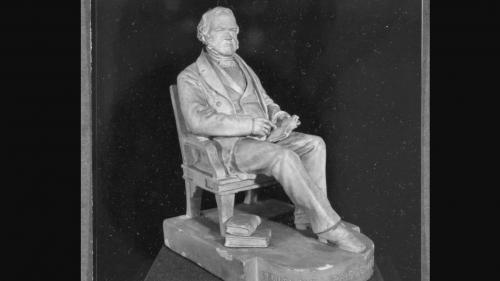 George Ticknor Statuette
