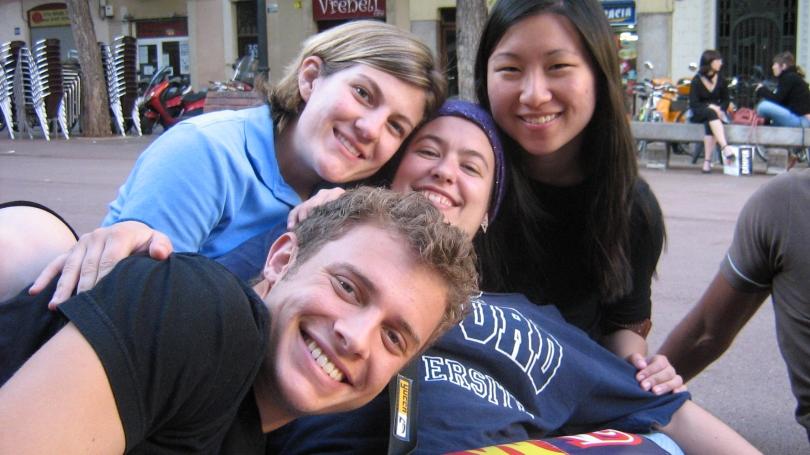 Undergraduate students in Barcelona