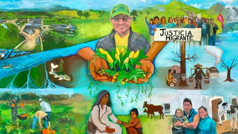mural project organic farm
